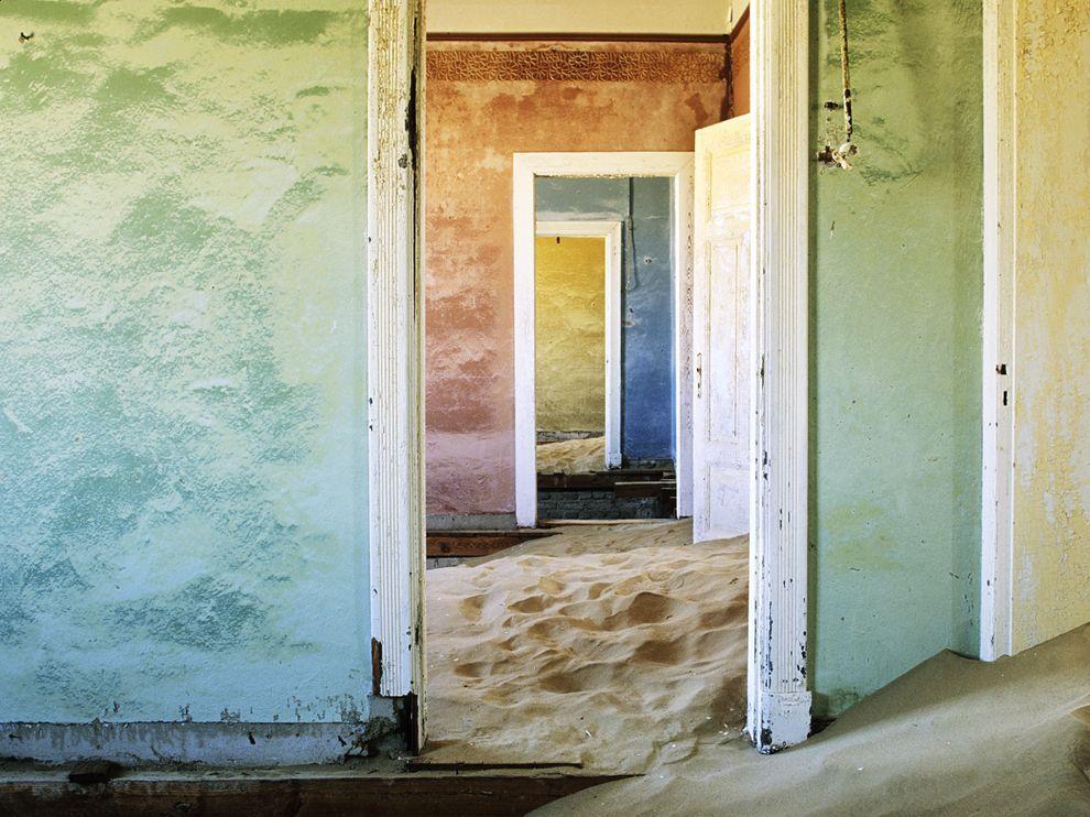 Doorways, Namibia  George Steinmetz