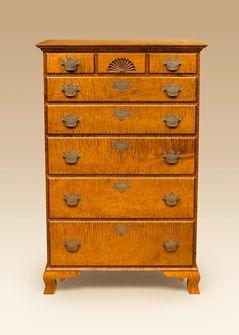 maple furniture tiger maple