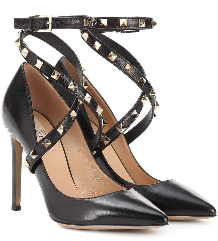 c25b2334d8de Valentino Garavani So Noir Pumps 100 ( 870) ❤ liked on Polyvore featuring  shoes