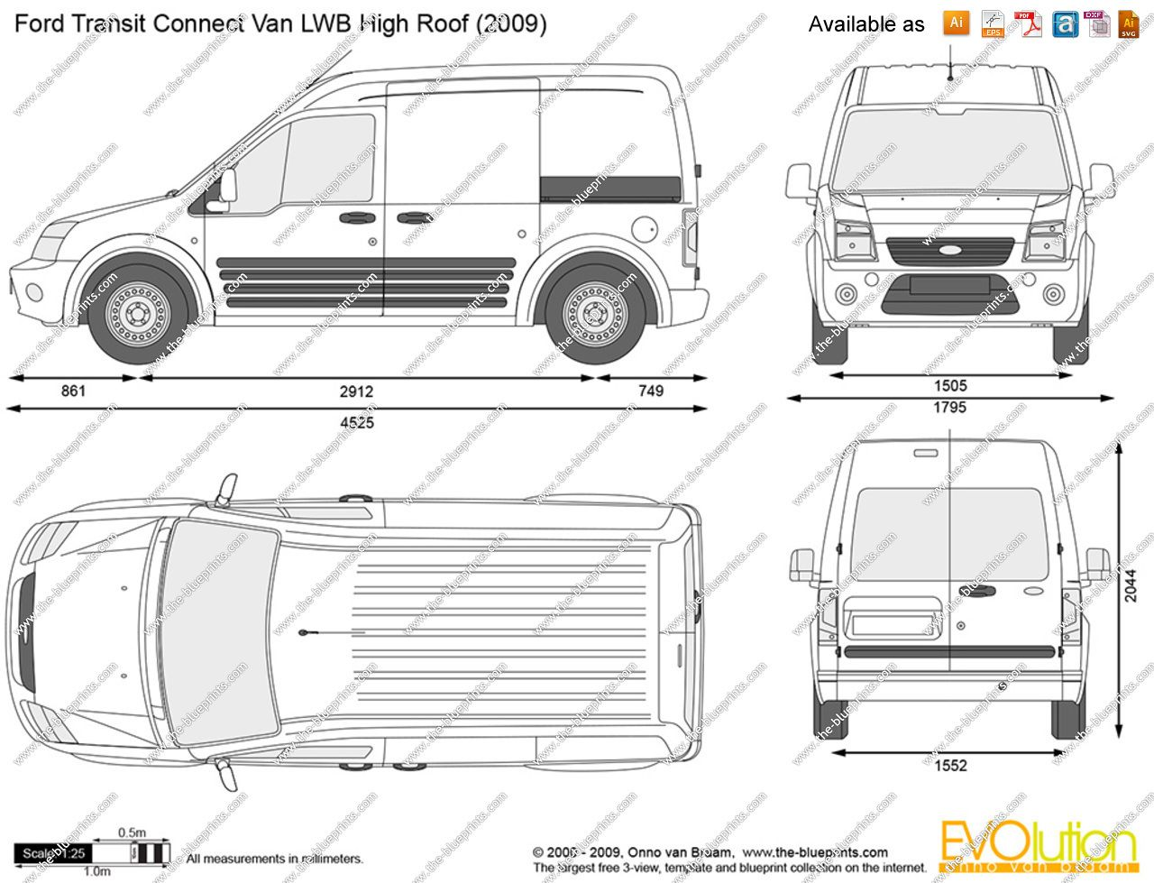 Awesome Ford Transit Connect Interior Dimensions A