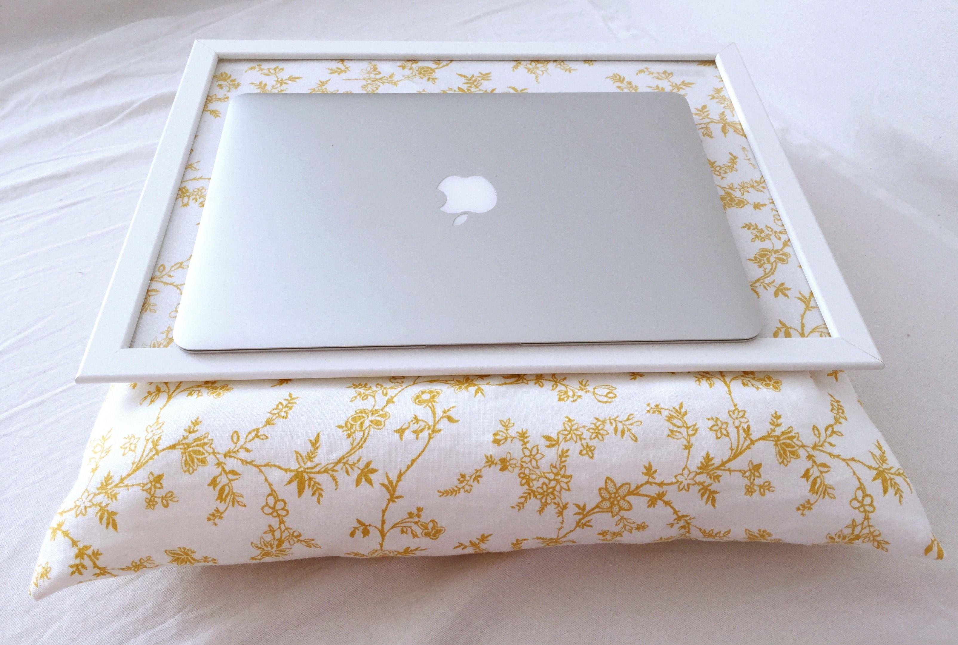 Diy Tablett Kissen Im Floralen Design Ikeahack Stoff In