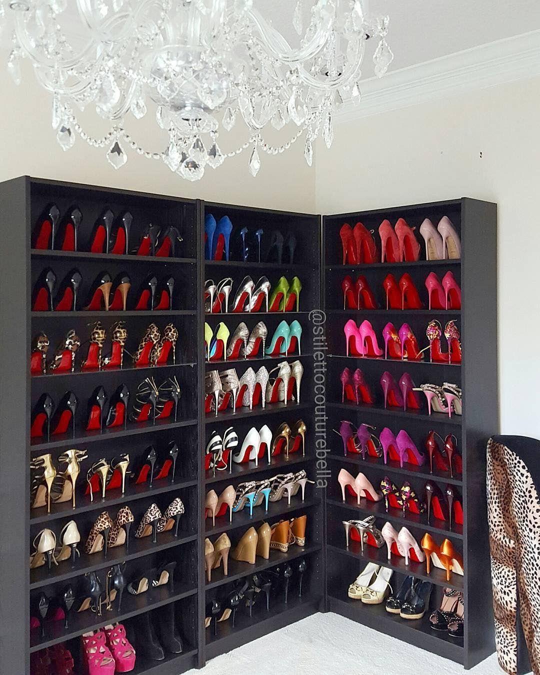 My dream closet! | Christian louboutin outlet, Christian