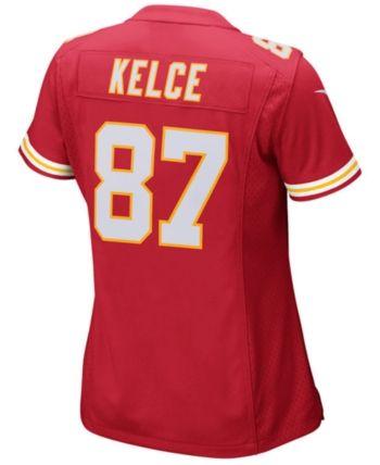5b0502a9 Nike Women Travis Kelce Kansas City Chiefs Game Jersey in 2019 ...