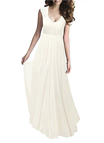 FORTRIC Women Deep V Neck Vintage Bridesmaid Wedding Party Evening Dress, http://www.amazon.com/dp/B01GCOG4M0/ref=cm_sw_r_pi_s_awdm_irOFxb63Q4BWA