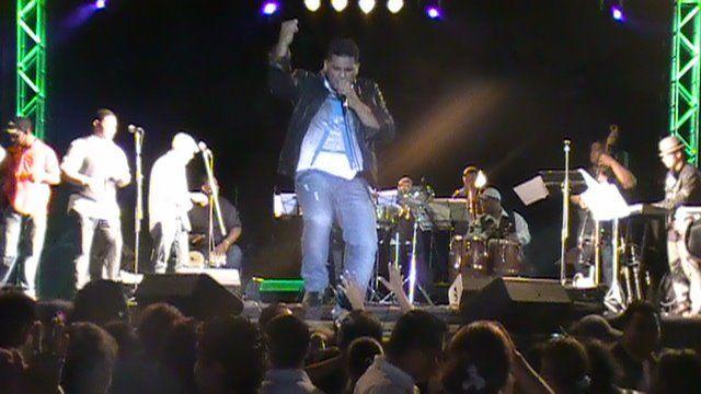 Davis Bravo Concierto en mi tierra Natal Ciudad Bolivar...!!!