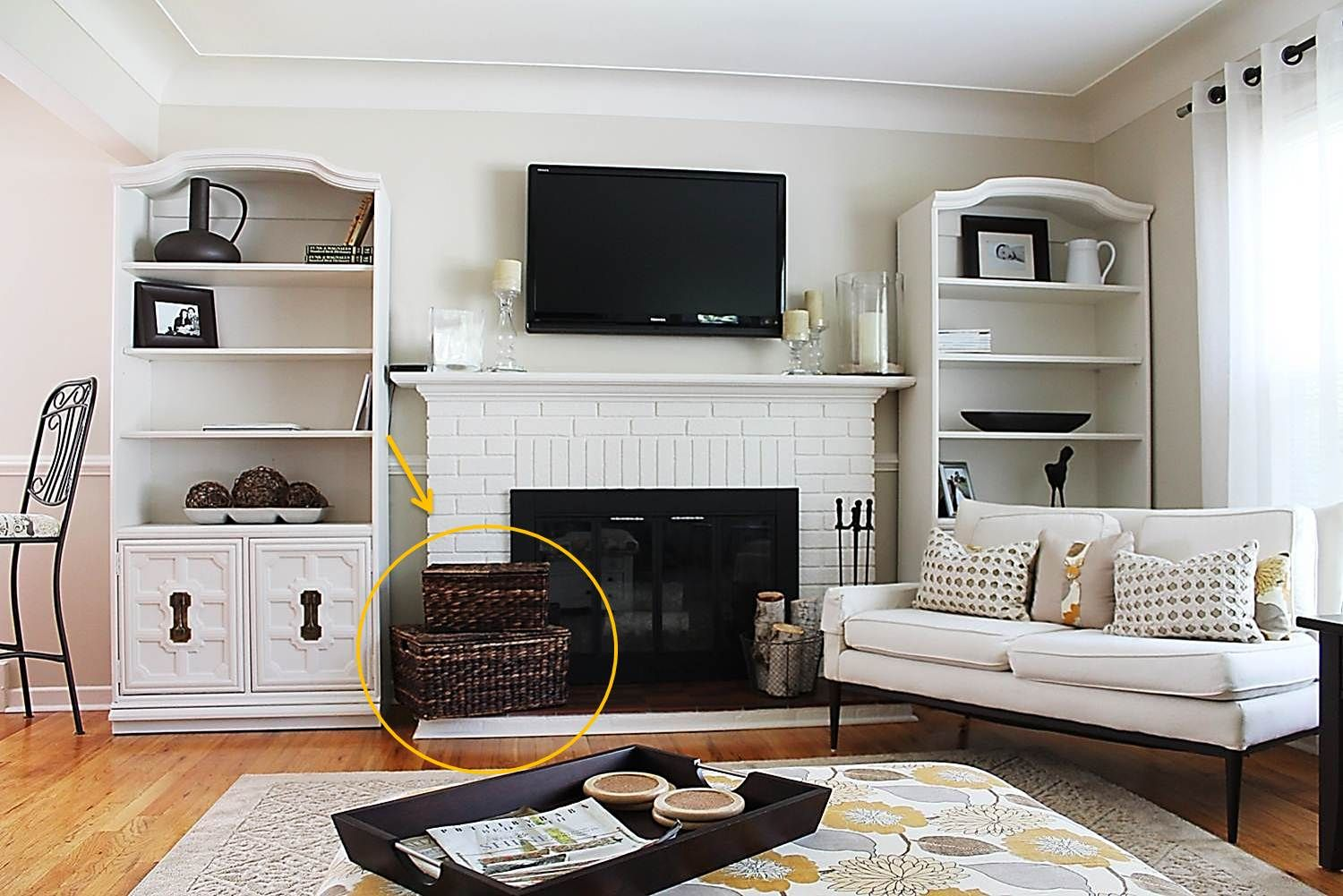 white living room cabinet. Room concealed toy storage  good ideas Pinterest Toy