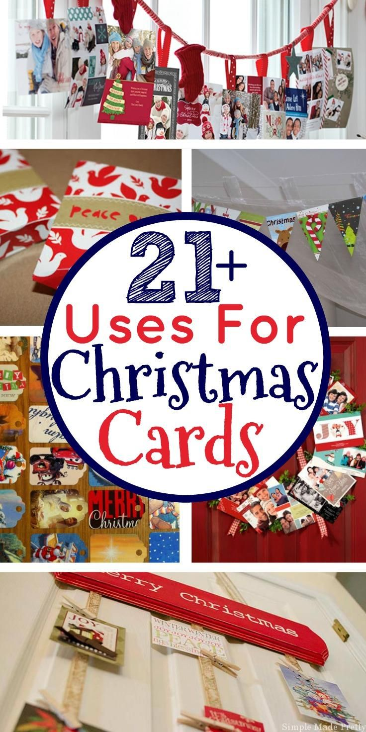 20+ Things To Do with Christmas Cards | Christmas cards, Upcycle and ...