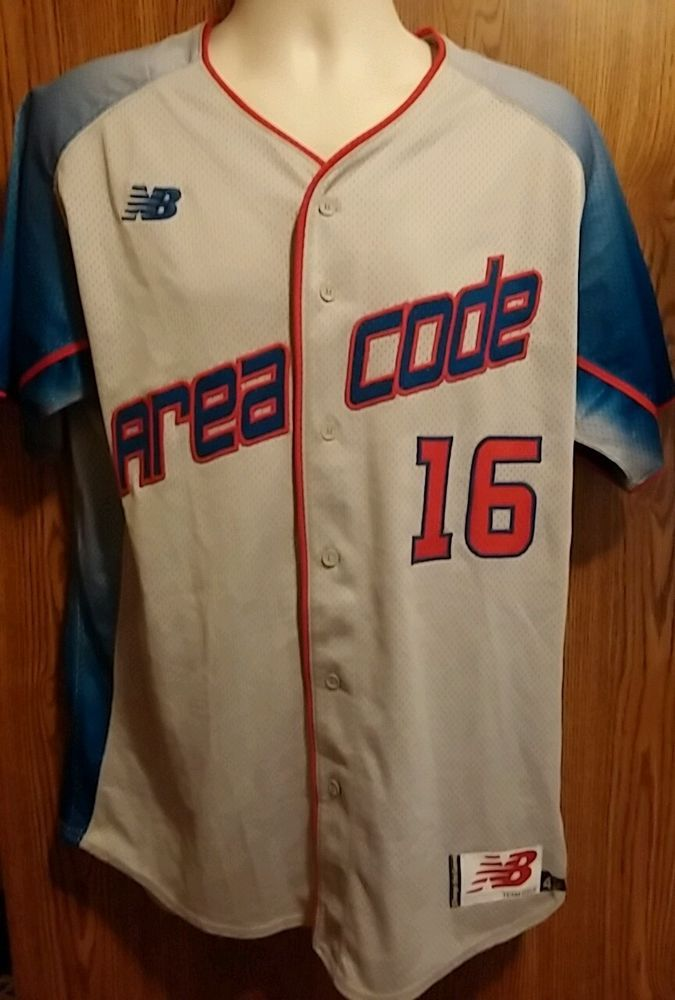 Baseball Jersey/Pants Team Issued # 16 Area Code New Balance Mens ...