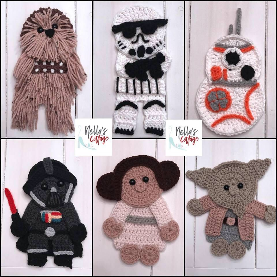 Ravelry: Chewbacca Star Wars amigurumi pattern by Paula Fuentes ... | 960x960