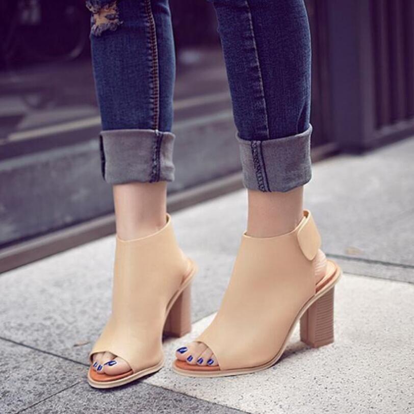 9d3f3f937 D & henlu женская летняя обувь женские сандалии гладиаторы пикантные туфли  с открытым носком на высоком каблуке с ремешком на щиколотке сандалии носки  в ...