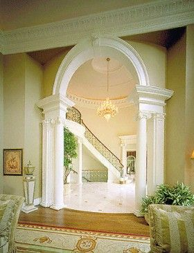 Charmant Arched Doorways | Doorway Arch To The Foyer, As Seen From The Formal Living  Room