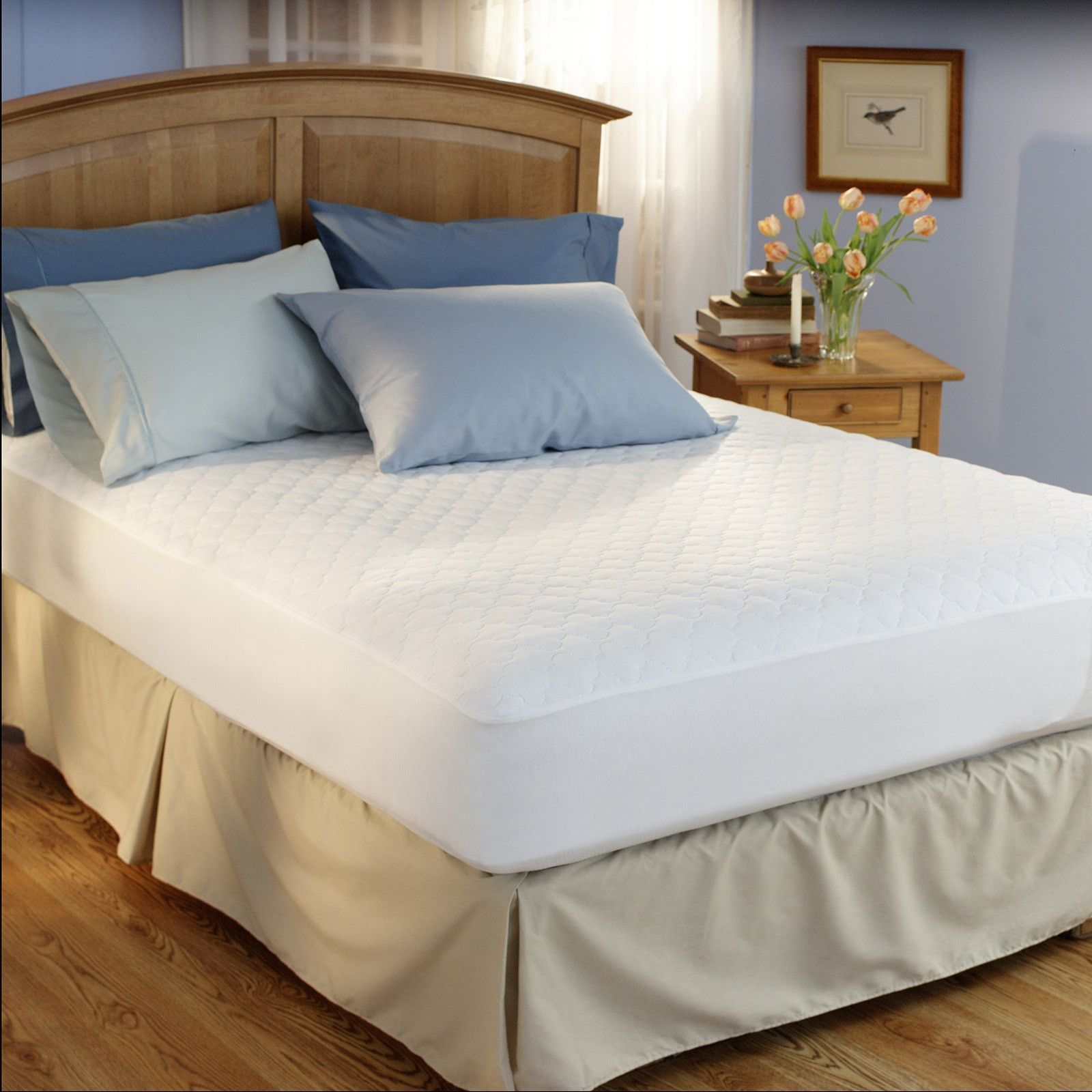Restful Nights® Easy Rest Economy Mattress Pad (With