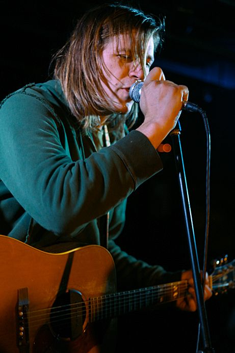 Evan Dando of the Lemonheads, solo in Vancouver. Pic by me. See the whole story and photos: http://backstagerider.com/2014/05/20/evan-dando/
