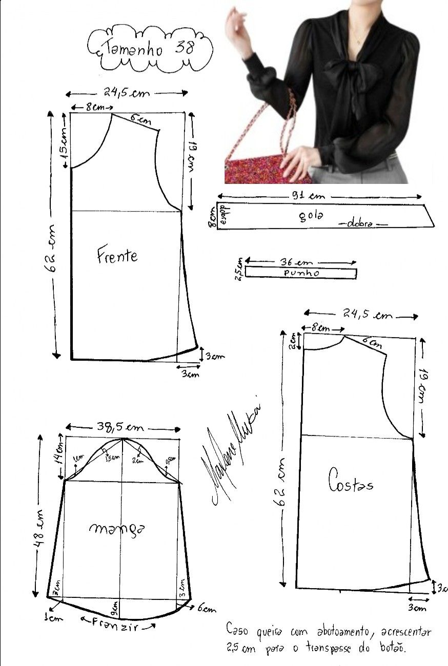 Pin by Sharda Persad on Naaipatronen | Pinterest | Sewing patterns ...