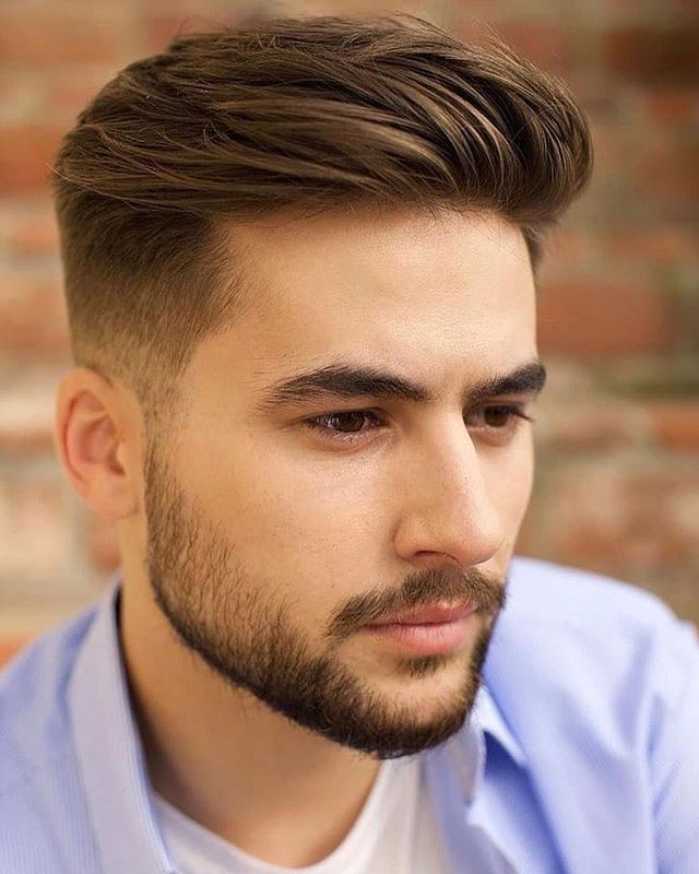 43 Moderne Manner Frisuren Dunnes Haar Hohe Stirn In 2020 Beard Styles Short Men Haircut Styles Thick Hair Styles