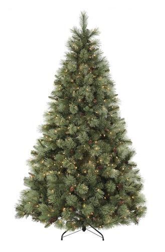 b8957b1987a87 Prelit Ponderosa Pine Christmas Tree at Menards®  7.5 ft. Prelit Ponderosa  Pine Christmas Tree