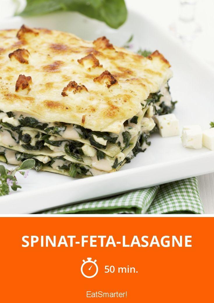 Spinat-Feta-Lasagne #spinatlasagne