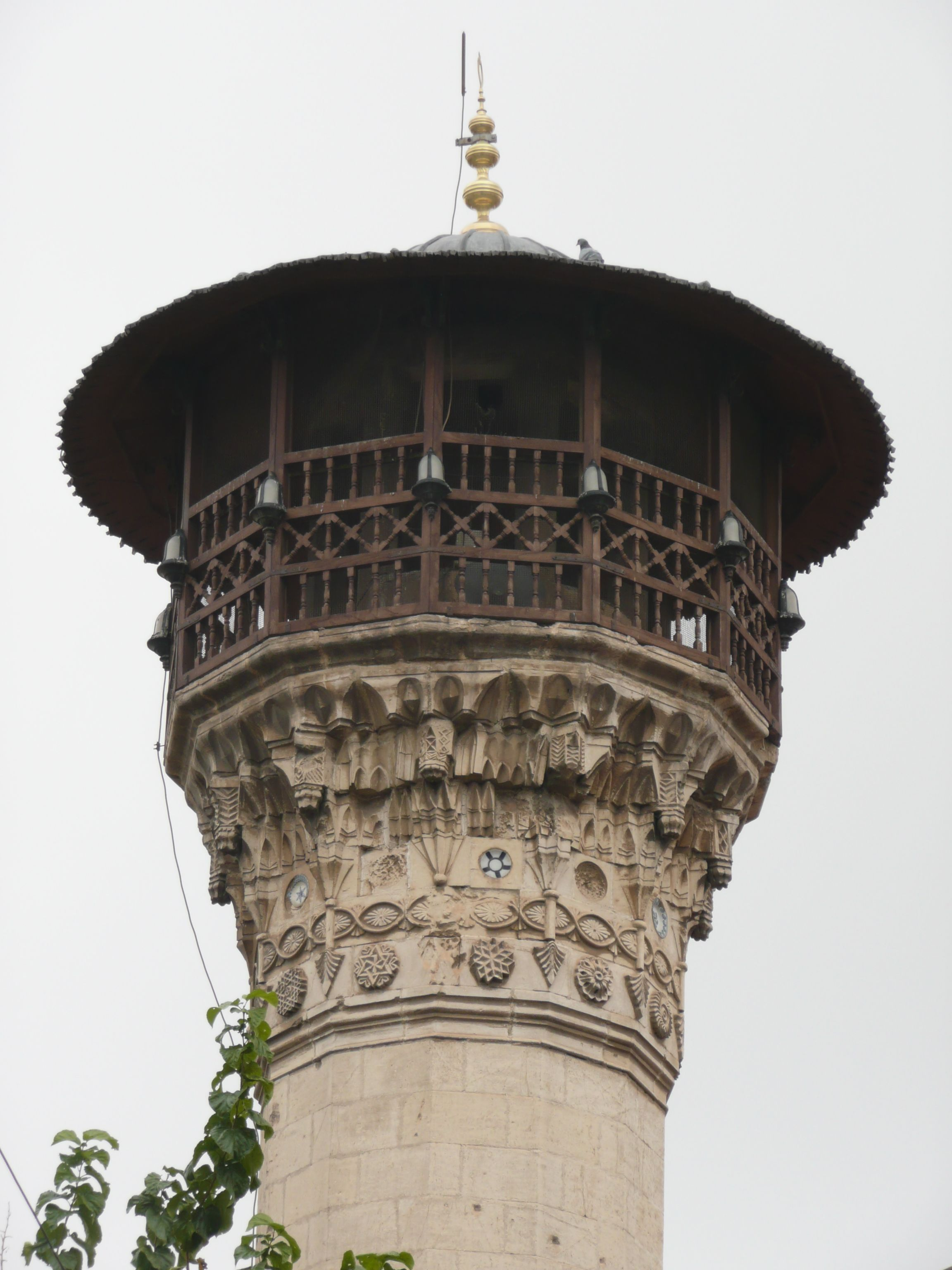 Minaret of the Boyacı Mosque in Gaziantep