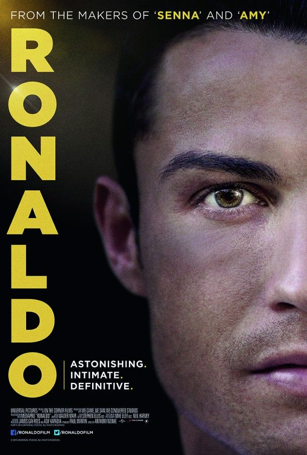 Image result for ronaldo 2015 documentary poster