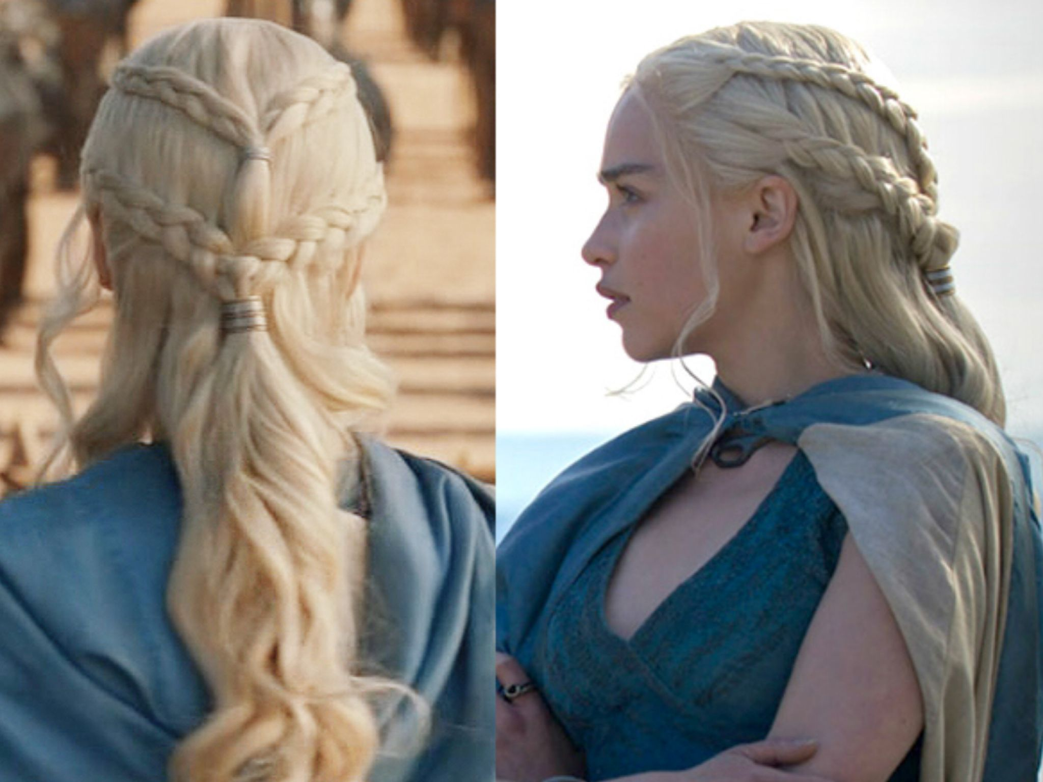 Pin by charming u glamour on game of thrones hairstyles pinterest