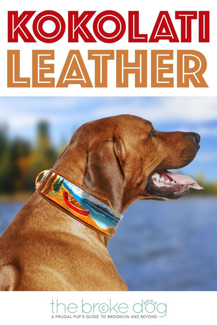 KoKoLati Leather Custom Handmade Painted Collars The