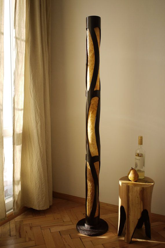 Floor Lamp Wood Lamp Ambient Light Bamboo Lamp Bamboo By Bamboobg Bamboo Lamp Bamboo Floor Lamp Wood Lamps