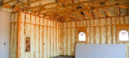 Spray Foam Insulation Spray Foam Insulation Home Insulation Energy Efficient Homes