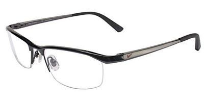 Nike Eyeglasses 6037 001 Black Chrome Demo 53 17 135 *** You can find out more details at the link of the image.