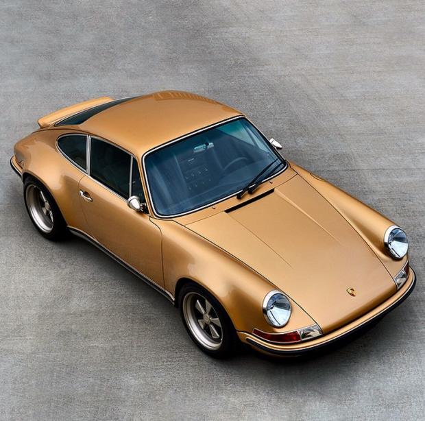 This Gold Custom Porsche Is Sex On Wheels