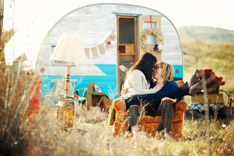 lovely camper engagements