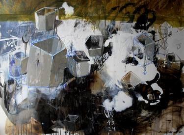 "Saatchi Art Artist Rusudan Khizanishvili; Painting, ""Emptiness"" #art"