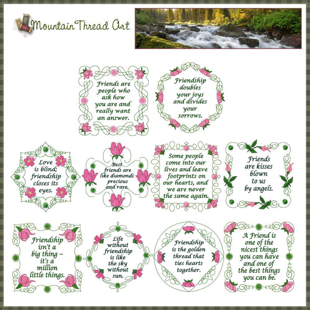 friendship quilt quotes