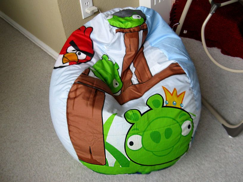 Angry Birds Bean Bag Chair For The Home Bean Bag Chair