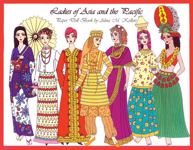 Ladies of Asia and the Pacific  sc 1 st  Pinterest & Ladies of Asia and the Pacific | Folkways | Pinterest | Dolls and ...