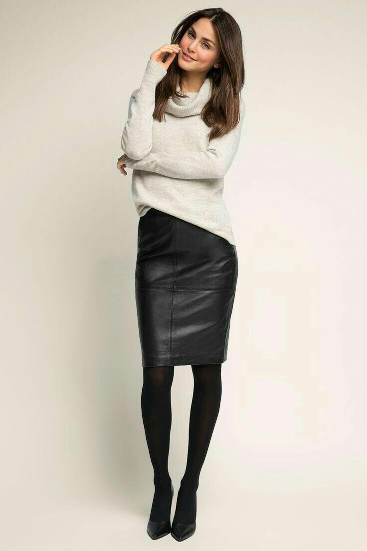 Lederlady ❤   Fashion clothes women, Fashion, Black leather skirts