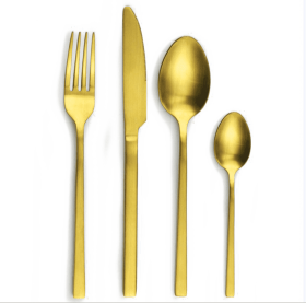 Rose Gold Fork Png Transparent Image Gold Spoon And Fork Png