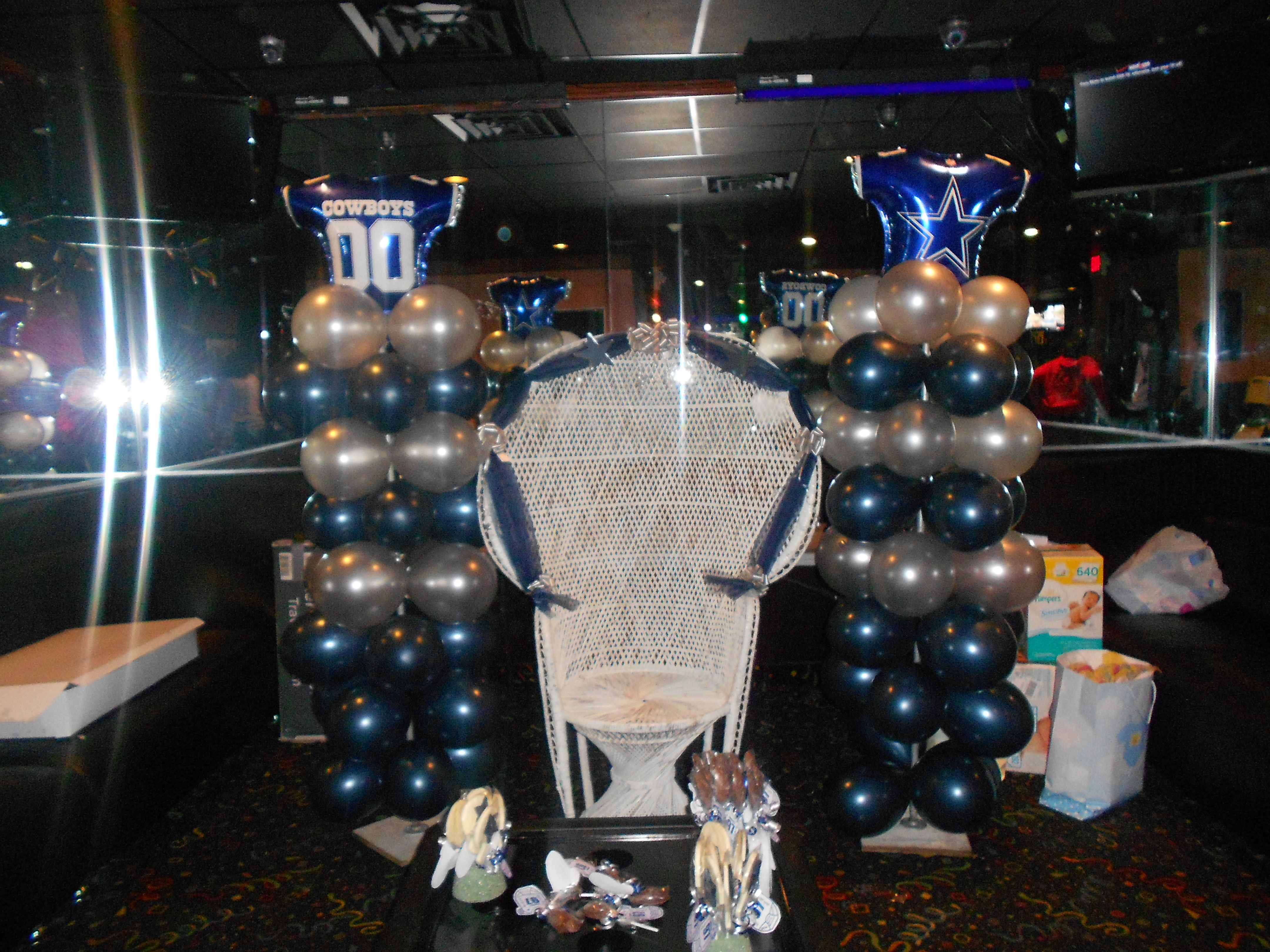 Dallas Cowboy Baby Shower....I Would Die! Love It!