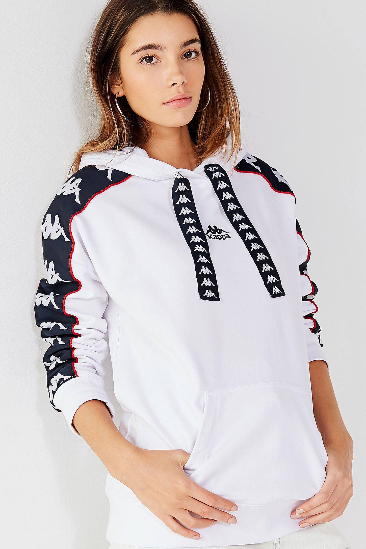 18aaa52b1abf Kappa X UO Tessie Oversized Hoodie Sweatshirt