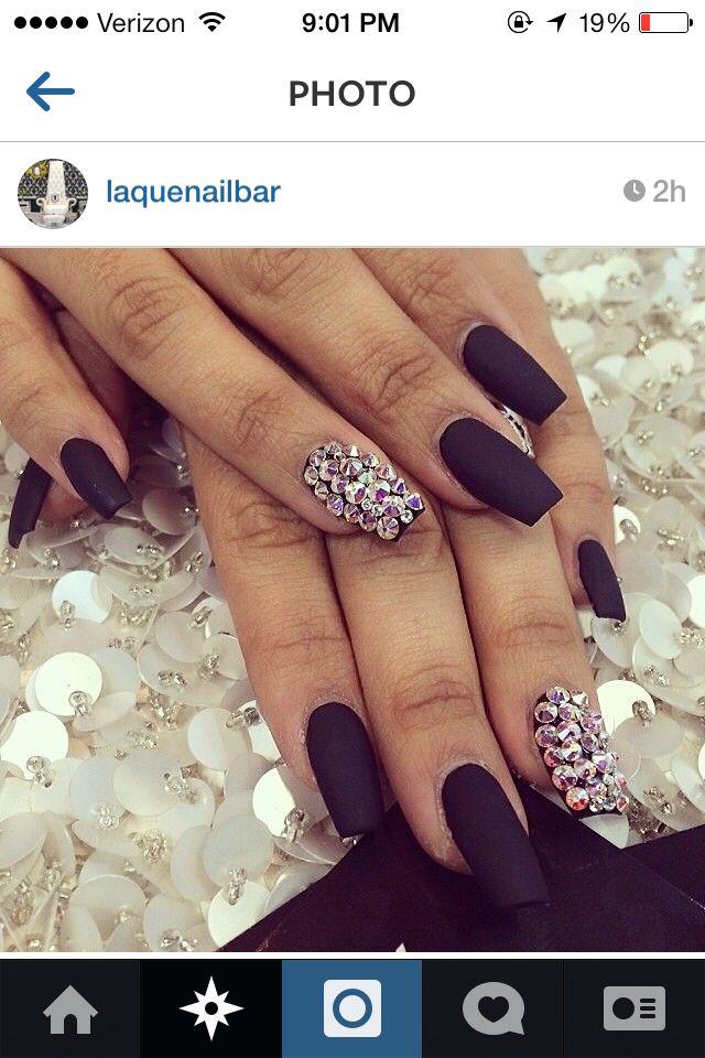IG | laquenailbar | matte nails | Pinterest