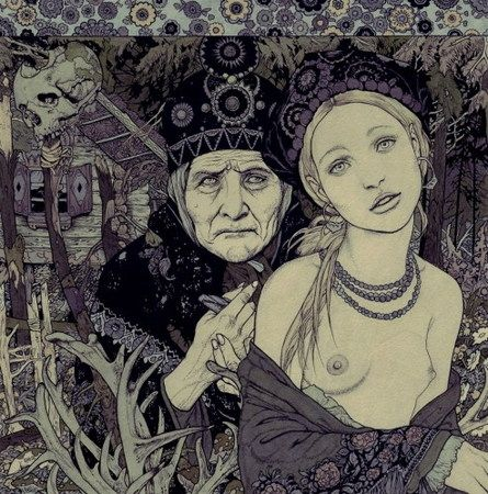 """""""Do not be frightened, Vasilisa, and do not be sad, for the morning is wiser than the evening.""""      Baba Yaga and Vasilisa the Beautiful"""