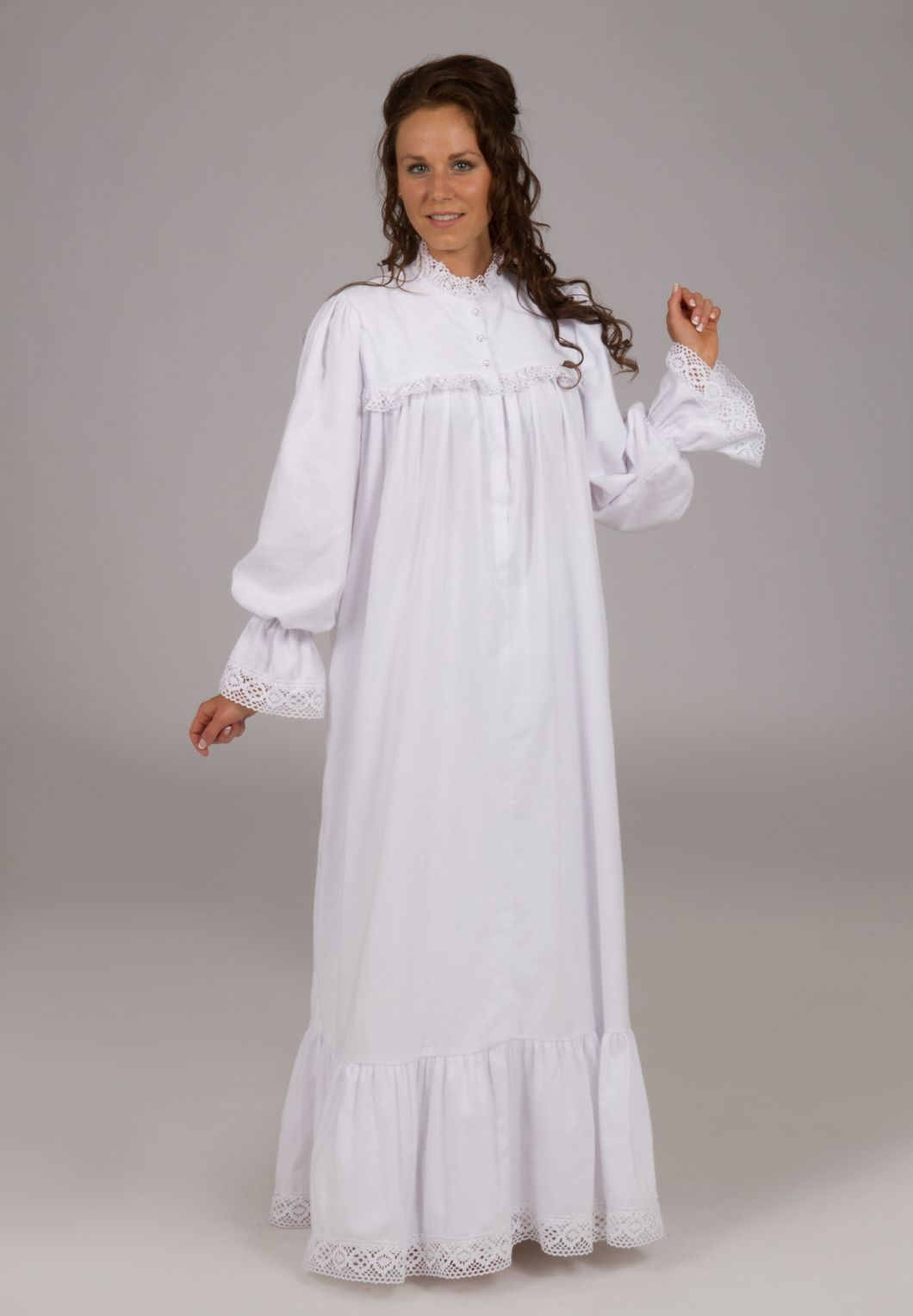 Victorian Flannel Nightgown  Pinterest  Nightgown Nighties and