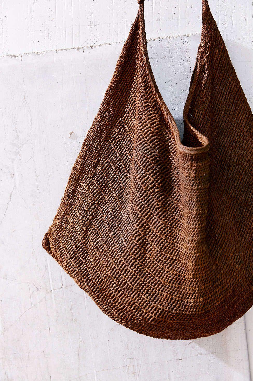 Sling bag crochet - Vintage Tibetan Sling Bag