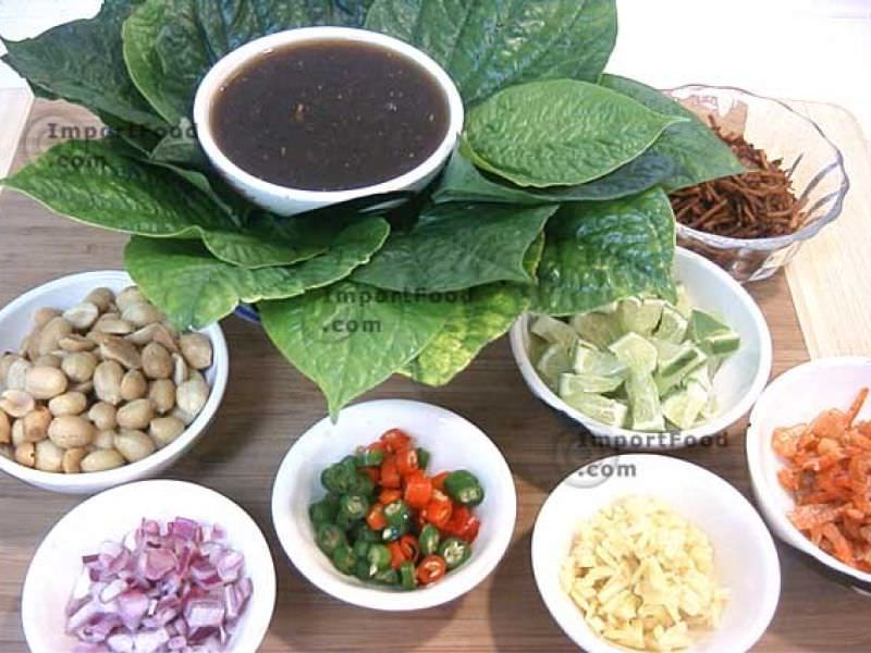 Miang kham food oriental pinterest thai recipes - Thailand cuisine recipes ...
