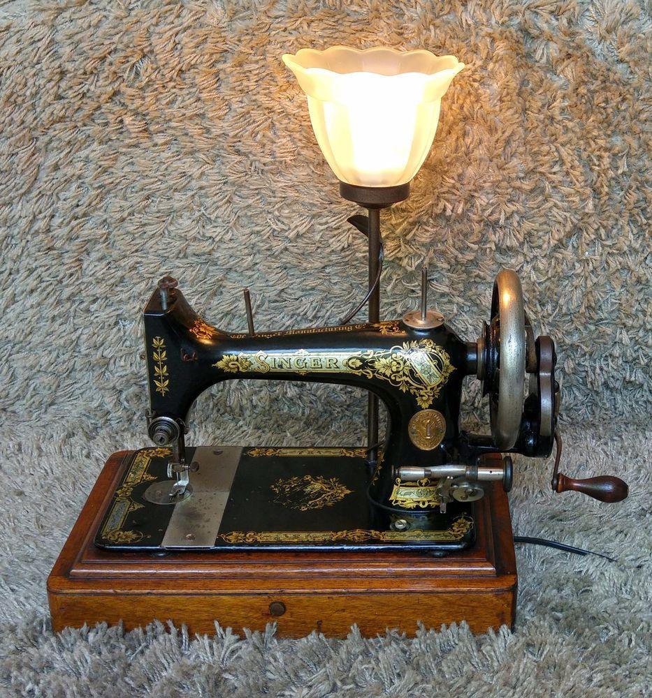 Unique Singer Antique Sewing Machine New Jersey 1900