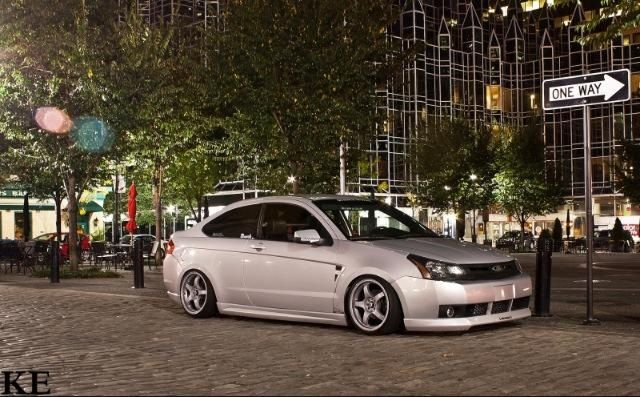 Stanced Ford Focus With Images Ford Focus Ford Focus Sedan