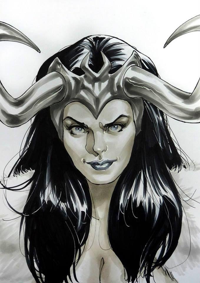 Lady Loki by David Yardin