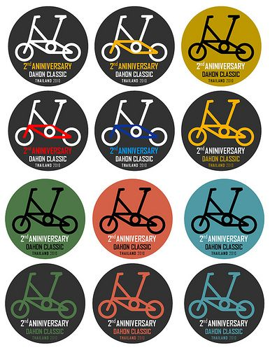 Dahon Bicycle Emblem Head Badge New