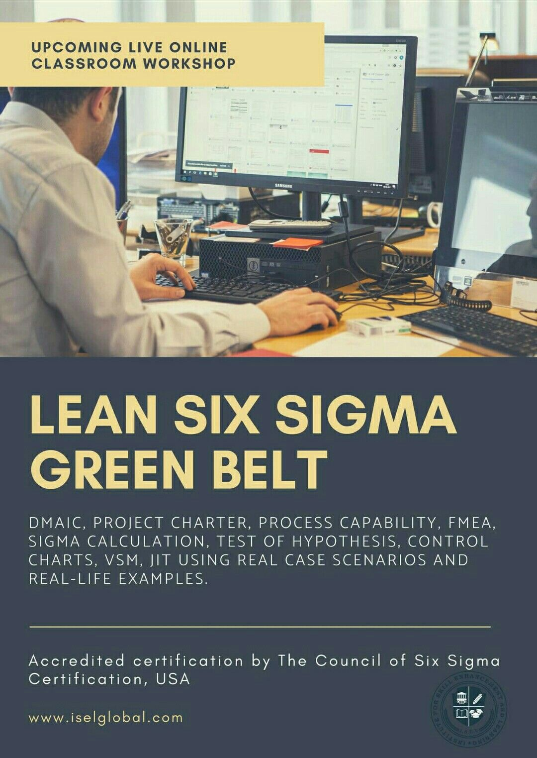 Certified Lean Six Sigma Green Belt Training And Certification By
