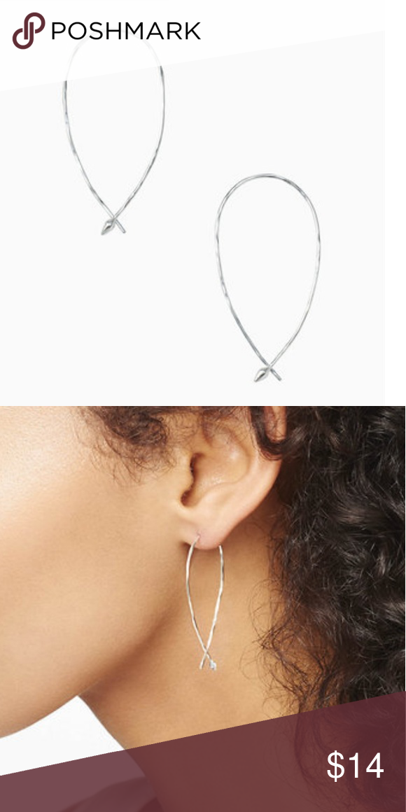 d68e2cc25fa55 Hammered Wire Small Hoops Stella and Dot Hammered Wire Small Hoops ...