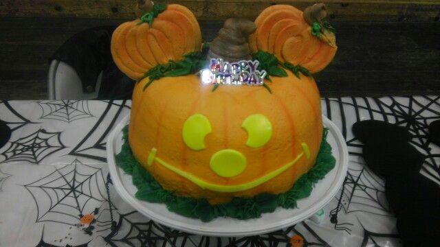 Mickey Halloween Birthday Cake Halloween birthday Pinterest - halloween birthday cake ideas